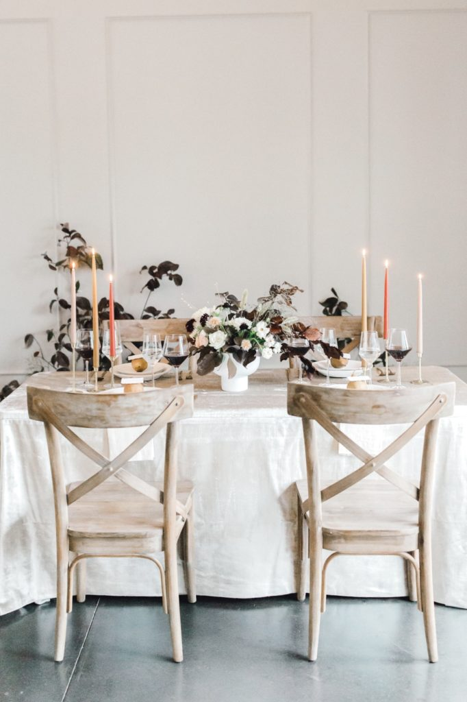 Elevated Autumnal Wedding at the Bradford | Tablescape
