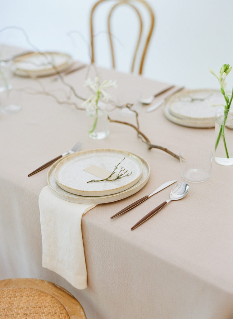 Minimal wedding design