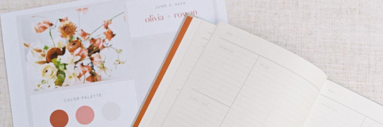 Wedding planning materials