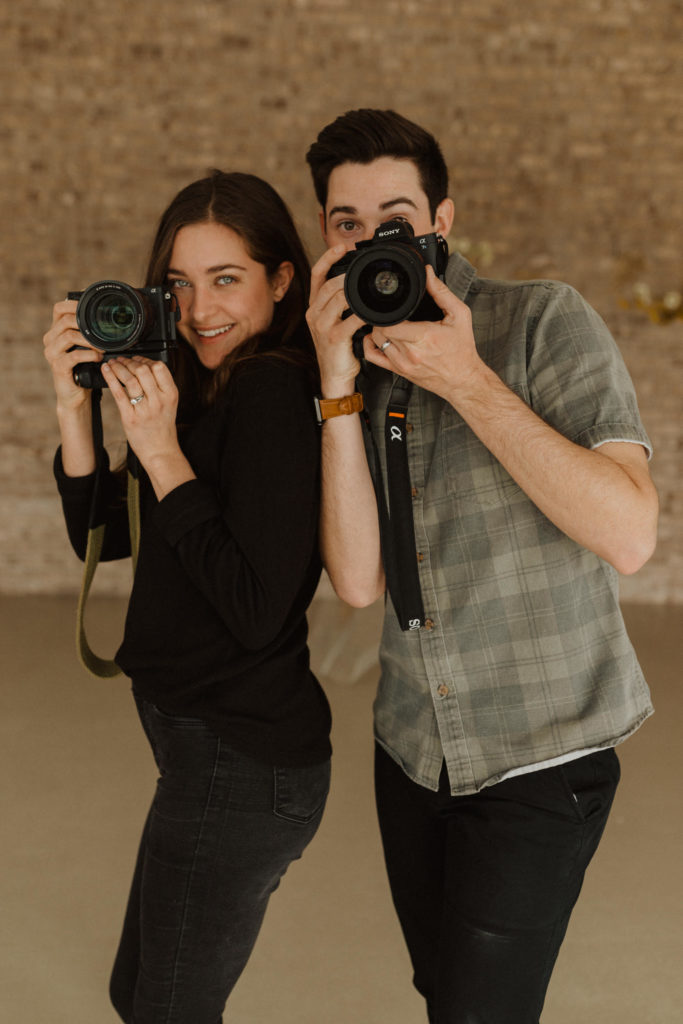 Jordan and Beatrice of Foraged Films