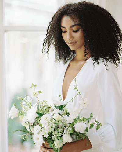 Modern Botanical Intimate Wedding - Wiley Events Co