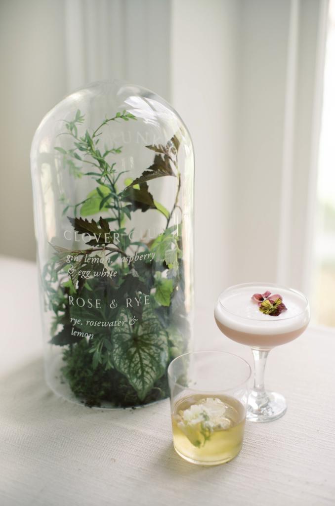 Botanical craft cocktails
