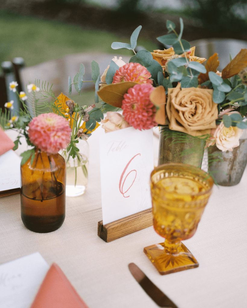 Corrie-and-Kevins-Fall-McAlister-Leftwich-House-Wedding-Kelsey-Nelson-Photography-Boho Tablescape